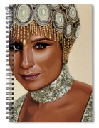 Barbra Streisand 2 Spiral Notebook