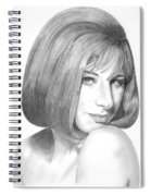 Barbra Streisand Spiral Notebook