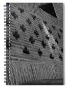 Barcelona Brick Wall Spiral Notebook