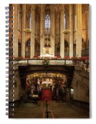 Barcelona Cathedral High Altar And St Eulalia Crypt Spiral Notebook