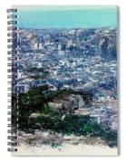 Barcelona Desde El Tibidabo Spiral Notebook