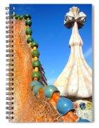 Barcelona Impression 1 Spiral Notebook