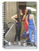 Barcelona Moms Spiral Notebook