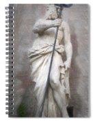 Barcelona - Neptune Statue Spiral Notebook