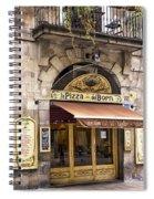 Barcelona Pizzeria Spiral Notebook