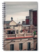 Barcelona Roofscape Spiral Notebook