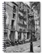 Barcelona Scooters Spiral Notebook