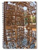 Barcelona Sculpture, Spain Spiral Notebook
