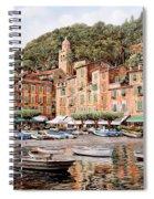 barche a Portofino Spiral Notebook