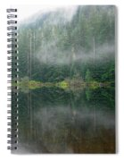 Barclay Lake, Reflected Spiral Notebook