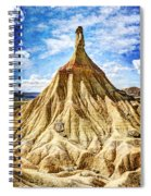 Bardenas Desert Last Man Standing - Vintage Version Spiral Notebook