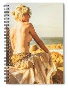 Bare Elegance Spiral Notebook