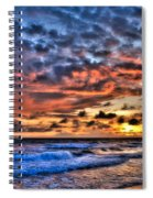 Barefoot Beach Sunset Spiral Notebook