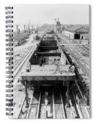 Barge Construction Spiral Notebook