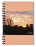 Barium Springs, Nc Sunset Spiral Notebook