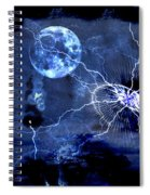 Bark At The Moon Spiral Notebook