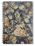 Bark Batik Ink #22 Spiral Notebook