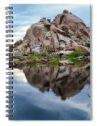 Barker Dam Reflection Spiral Notebook