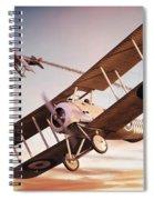 Barker's Snipe Spiral Notebook