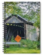 Barkhurst Covered Bridge  Spiral Notebook