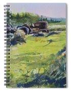 Barley Harvest Spiral Notebook