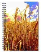 Barley Spiral Notebook