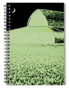 Barn Abstract Spiral Notebook