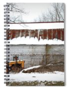 Barn And Tractor Spiral Notebook