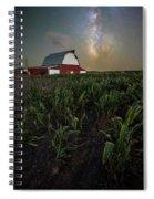 Barn Astronomy 2  Spiral Notebook