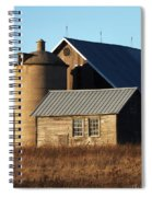 Barn At 57 And Q Spiral Notebook