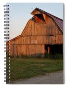 Barn At Early Dawn Spiral Notebook