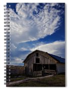 Barn At Fisher Ranch Spiral Notebook