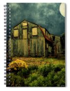 Barn By The Beach Spiral Notebook