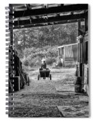 Barn Chores Spiral Notebook