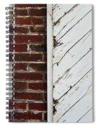 Barn Door Abstract Spiral Notebook