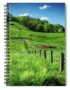 Barn Flag Spiral Notebook