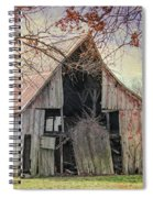 Barn Of The Indian Summer Spiral Notebook