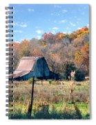 Barn In Liberty Mo Spiral Notebook