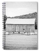 Barn In Meadow Spiral Notebook
