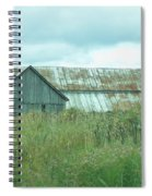 Barn In Softness Of Nature Spiral Notebook