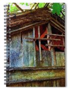 Barn In Summer Colors Spiral Notebook