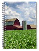 Barn In The Corn Spiral Notebook