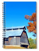 Barn In The Fall  Spiral Notebook