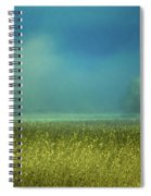 Barn In The Field Spiral Notebook