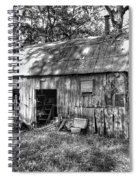 Barn In The Ozarks B Spiral Notebook