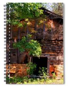 Barn In The Shade Spiral Notebook