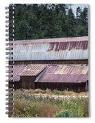 A Colorado Barn In Summer Spiral Notebook