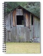 Barn In The Woods Spiral Notebook