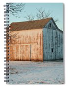 Barn Late Afternoon Spiral Notebook
