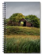 Barn On Hill Spiral Notebook